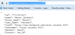 Facebook ID by Facebook Usename