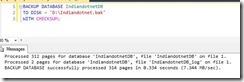 Backup_CheckSUm_option