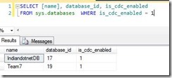 CDC_Enable_database_List