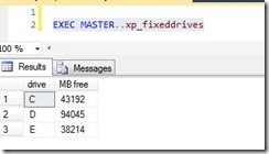 fixed_drive_space_by_Sql_server_indiandotnet