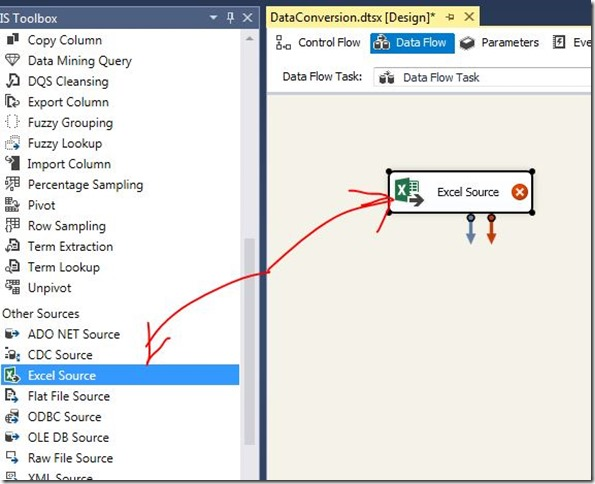 Data Conversion for SQL Server Integration Services (SSIS