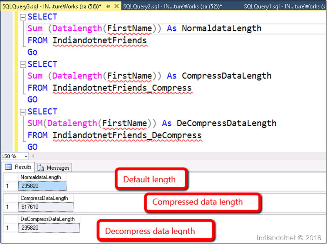 SQL Server: Compress and Decompress - DZone Database