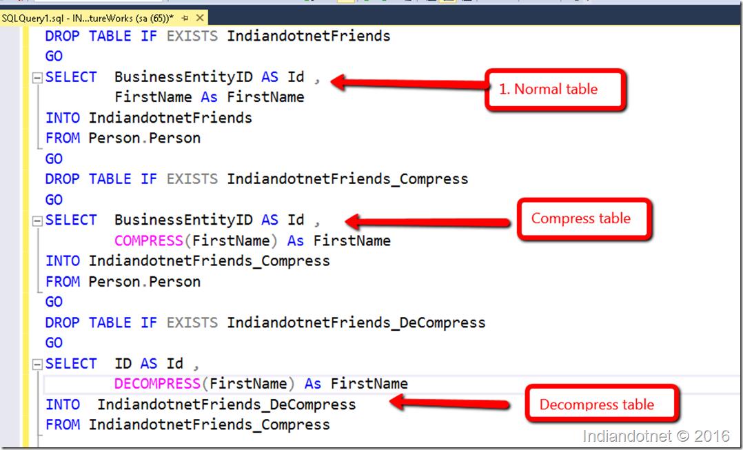 SQL Server: Compress and Decompress - DZone Database