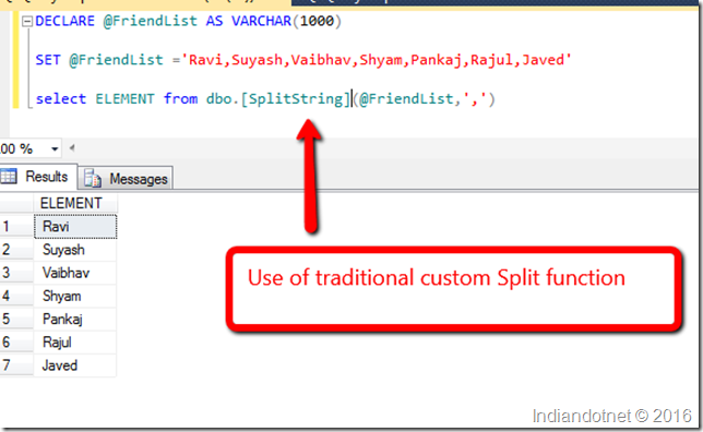 use_of_Split_Function_in_SQL_Indiandotnet