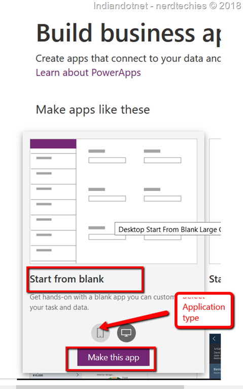 The A – Z Guide Of Create the First powerApps - CodeProject