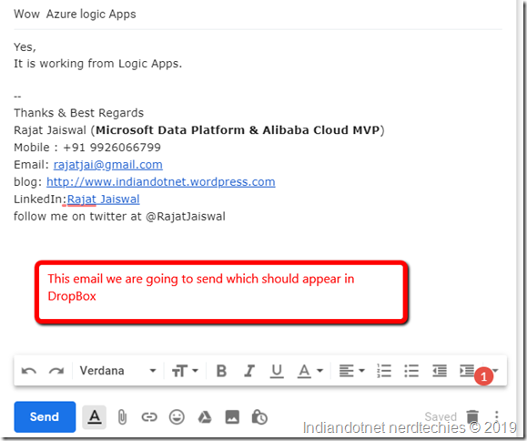 Indiandotnet_Logic_Apps_Email